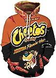 Chaos World Hombres Sudaderas con Capucha cordón Bolsillos 3D Impreso Pullover Hoodies (Pantera Negro,S)