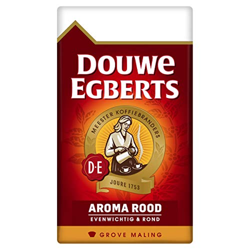 Douwe Egberts Aroma Rood Grove Maling Filterkoffie, 6 x 250 Gram