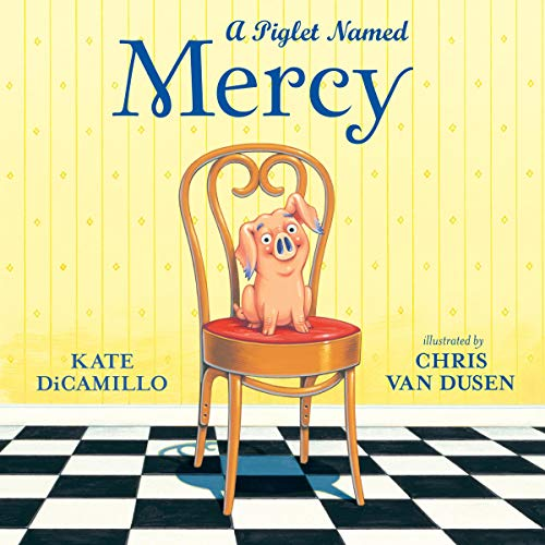 A Piglet Named Mercy audiobook cover art