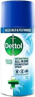 Dettol All In One Disinfectant Spray, Crisp Linen - 400 ml