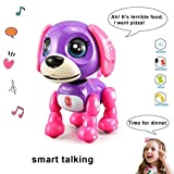 amdohai Interactive Puppy - Electronic Pet Toy, Smart Robot Dog for Age 3