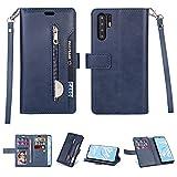 Phone Flip Coque Shell Pour Huawei P30 Pro Case, Fonction de support Portefeuille magnétique...