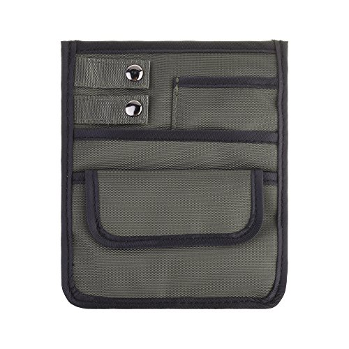 Beautyflier Nylon 4 Pockets Nurse Organizer Bag Pouch for Accessories Tool Case Medical Care Kit (CASE ONLY) (Gun)