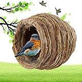 Protección para los animales, loros, nidos canarios, nidos de pájaros para loros u otros animales pequeños, jaula para incubadora