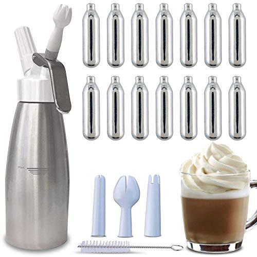 Whipped Cream Dispenser + 24 Whip