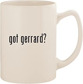 got gerrard? - White 14oz Ceramic Statesman Coffee Mug Cup
