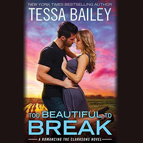 Too Beautiful to Break audiobook cover art