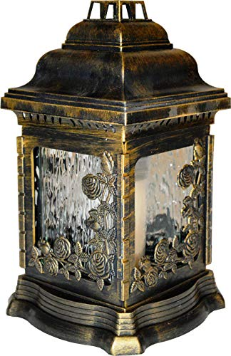 WoMa Kreativ Kerze Grablichter Grabschmuck Grablampe Grablaterne Grablicht Grableuchte Memory 26 cm W.K-207r_2