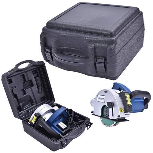 DREAMADE Tracciatrice Scanalatrice Scanalatore Elettrico a Muro con 2 Lame Diamantate 150 mm e Custodia 1700 W