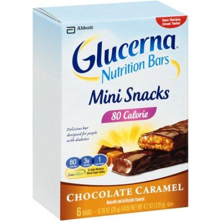 Glucerna Mini Treat Bars New Shipping Free Shipping To Blood Sugar Manage Help Chocolate Free Shipping New