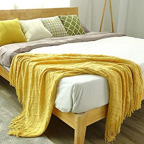 BASA Mantas,Mantas de Punto,Mantas de Cama, Toallas, Mantas, Mantas de sofá, Mantas para Dormir, cómodas