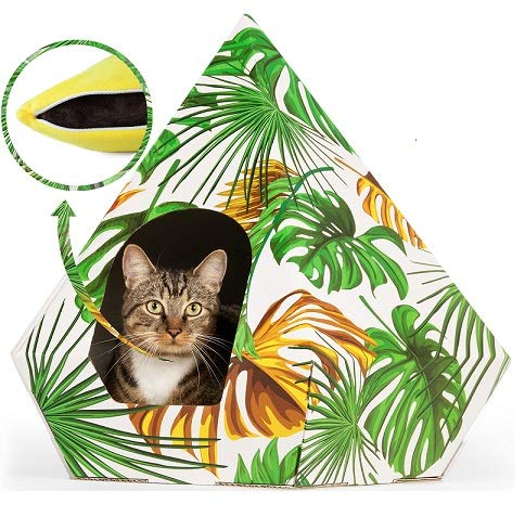 troppipets Large Cat Hideaway Bed