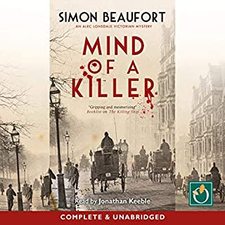 Mind of a Killer audiobook cover art