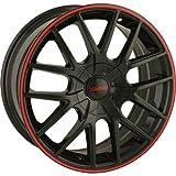 Touren TR60 3260 Black/Red Ring Wheel (17 x...