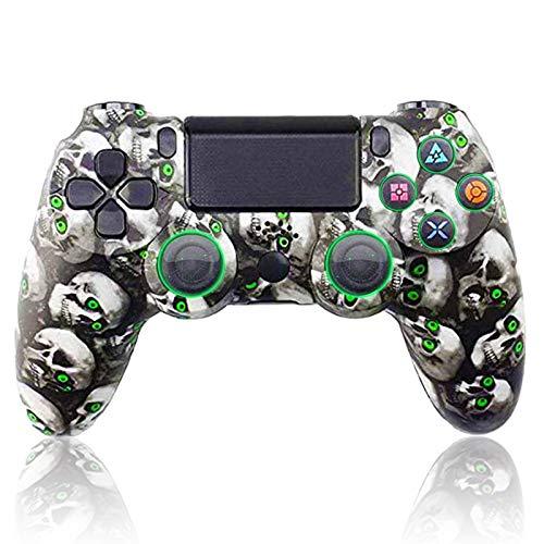 HUDB Wireless Controller Für PS4- Gamepad Für PS4/ PS4 Slim/ PS4 Pro/PC/Laptop, Audiofunktion Anti-Rutsch Griff Und Bluetooth Gamepad,S7