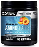 Infinity Forces Keto Friendly Amino Acids, All Essential Amino Acids Blend, BCAA & EAA Blend Post Workout Amino Acid Supplements, Recovery Powder After Exercise Electrolyte Powder (Peach)