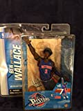 McFarlane Sportspicks: NBA Series 7 Ben Wallace Detroit Pistons 2nd Edition 6 inch Action Figure