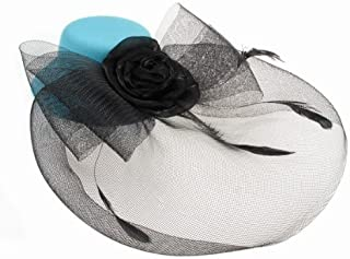 Glitz4Girlz Turquoise Top Hat Fascinator