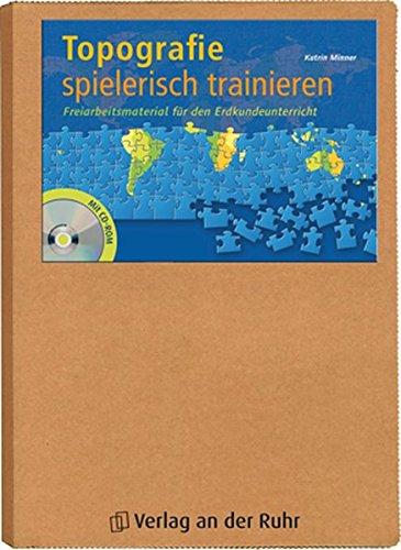 Topografie spielerisch trainieren: Freiarbeitsmaterial für den Erdkundeunterricht