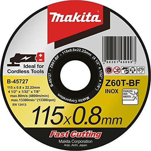 Makita B-45727 Trennscheibe 115 x 0,8 mm Metall