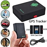 SPYCENT Very Small GPS LBS Tracker A8 for Kids Elder SIM Card acivated Call Back Function On Voice Easy Control by SMS Command
