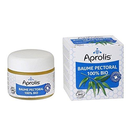 Baume Pectoral 100% Bio - Propolis et Huiles Essentielles- 50ml