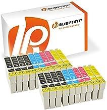 Bubprint 20 Druckerpatronen kompatibel für Epson T1291 T1292 T1293 T1294 für Stylus SX235W SX420W SX425W SX430W SX435W Office B42WD WorkForce WF-7515