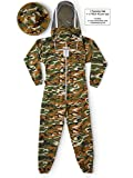Natural Apiary Max Beekeeping Suit Outfit 2 x Non-Flammable Fencing...