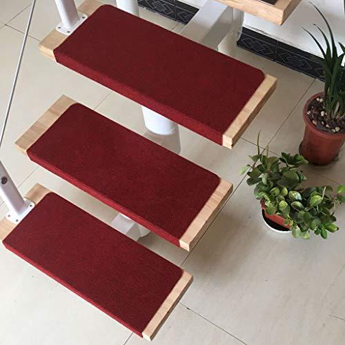 Carpet Stair 15 stuks tapijt-trapmatten, tapijt-trapmatten, trapbekleding, tapijt-trapbekleding, klassiek zelfklevend, 65 x 24 cm