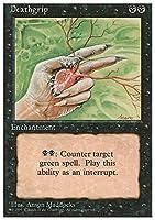 Magic: the Gathering - Deathgrip - Fourth Edition