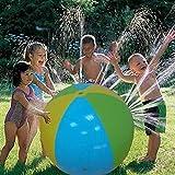 Vinteen Wasser-Spray-Ball, aufblasbaren Wasserball im Freien Wasser-Spray-Ballon for Schwimmen Sommer-Party-Pool Kinder Spielen for Kinder