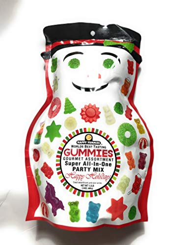 happy yummies worlds best tasting gourmet gummies happy holidays edition