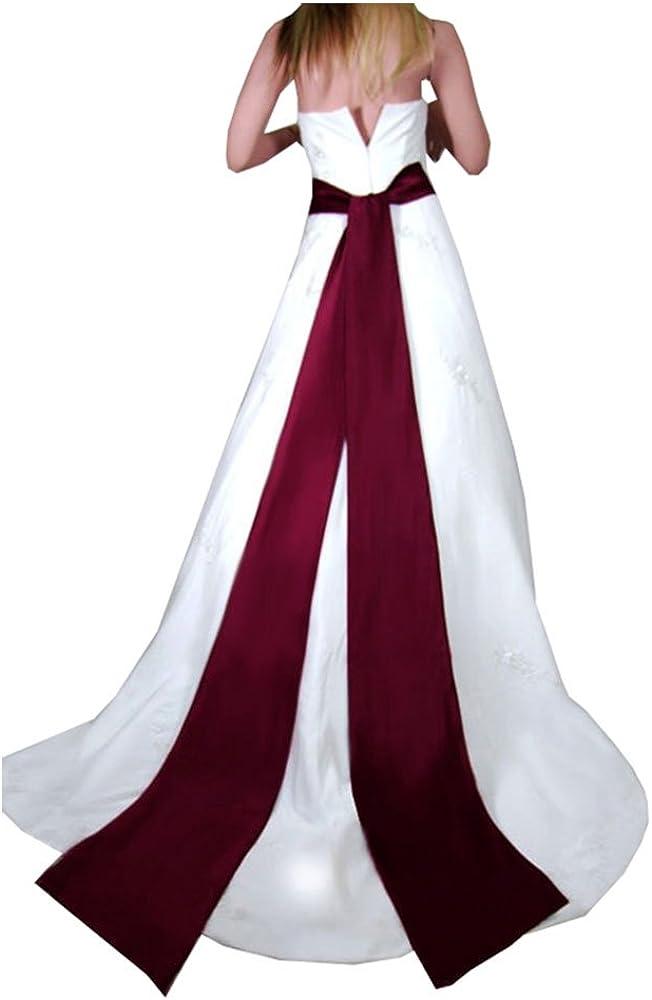 Bridal Wedding Large Long Sash colors in 10 Popular standard Belt Kansas City Mall