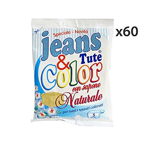 Set 60 Biancospino 300 gr. Vlekverwijderaar jeans kleding & kleur wasmiddel huis
