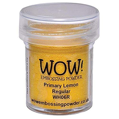 Wow Embossing Powder Wow! Embossing-Puder, 15 ml, Zitrone