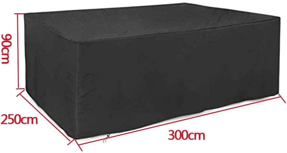 JTZR Black Variety of Sizes Covers Same day shipping Furniture Furn Patio Outdoor New product! New type