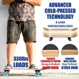 Zoom IMG-2 completo skateboard professionale 31 x