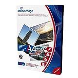 MediaRange MRINK102 carta fotografica bianca doppio lato DIN A4 (210 x 297mm) 50 fogli 200gr