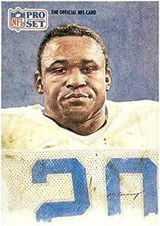 9 Cards 1991 Pro Set Platinum Detroit Lions Team Set with Barry Sanders /& Rodney Peete