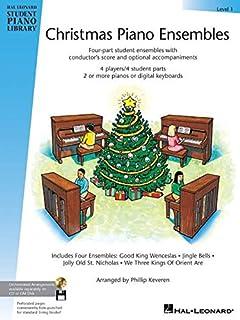 Christmas Piano Ensembles Level 1