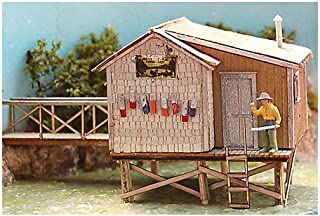 Bar Mills HO Scale Kit Laser-Cut Fishing Shack
