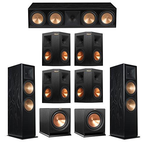 Why Should You Buy Klipsch 7.2 Black Ash System with 2 RF-7 III Floorstanding Speakers, 1 RC-64 III ...