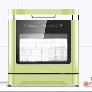 ZXCVB Inicio lavavajillas automático libre de la instalación de escritorio pequeño inteligente Mini Desinfección Secado cepillo cuenco Desinfección Armario