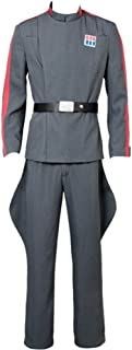 Cosplaysky Mens Halloween Costume Imperial Officer Uniform Outfit Cosplay