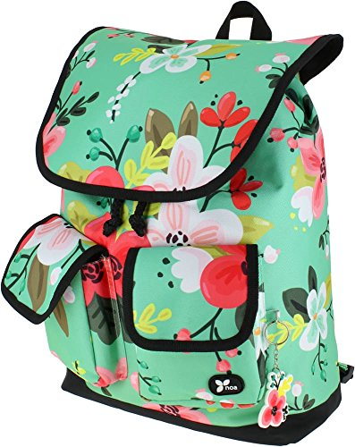 Grafoplás 37590115-Mochila Saco diseño Noa modelo Flores