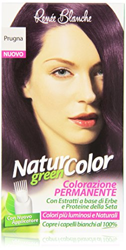 teinture pour les cheveux coloration permanent naturel natur color greenprugna prugna