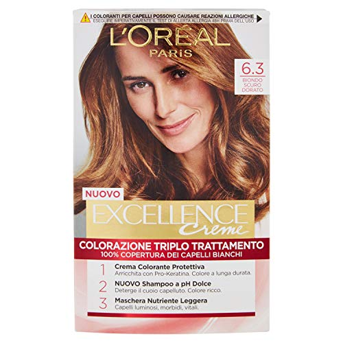L'OREAL Excellence6,30 Keine Dunkelgoldblond - Haarfärbemitteln