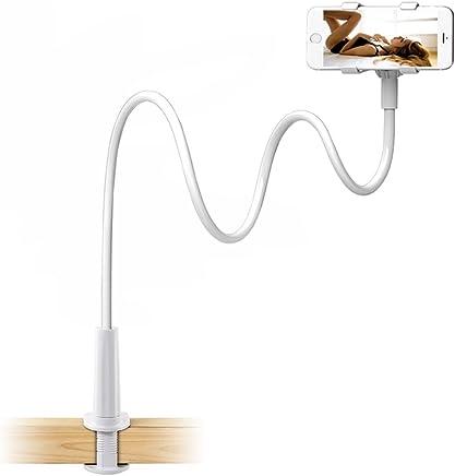 df9a2b25cc3 Enllonish Soporte para télefono móvil,Universal Clip Cuello Soporte  Giratorio Montaje (Phone Stand