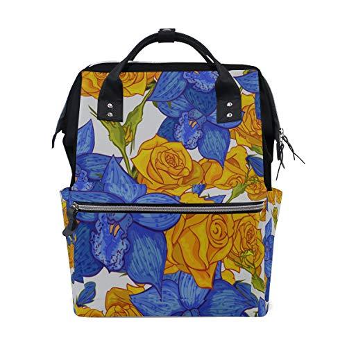 Blume Einzigartige Blumenpflanze Große Kapazität Windel Taschen Mummy Rucksack Multi Funktionen Wickeltasche Tasche Handtasche Für Kinder Baby Care Travel Täglichen Frauen