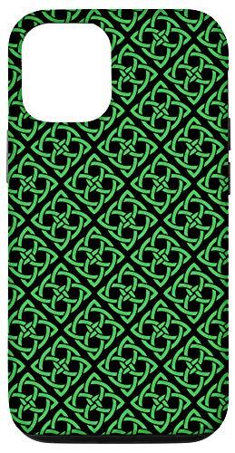 iPhone 12/12 Pro The Irish Celtic Knot Four-Leaf Clover Shamrock Case